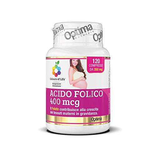 Optima Acido Folico, 400 Mcg, 120 Compresse