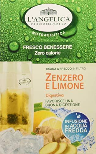 L'Angelica Tisana Funzionale a Freddo Zenzero e Limone 15 filtri - Confezione da 10pz