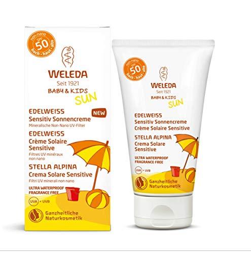 WELEDA Baby&Kids Stella Alpina Crema Solare Sensitive (SPF 50) - 50 ml.