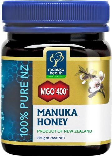Manuka Health - Miele di Manuka MGO 400+, flaconcino da 250gr