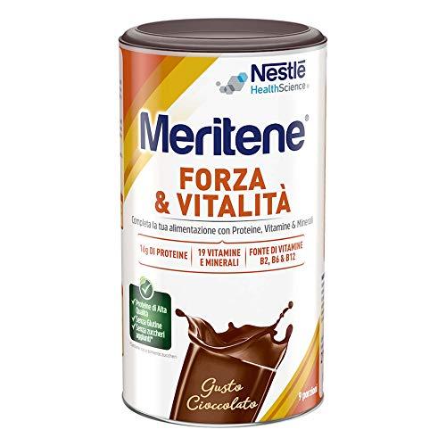 MERITENE FORZA & VITALITA' polvere - GUSTO CIOCCOLATO - Barattolo 270g