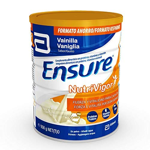 Ensure NutriVigor Integratore in Polvere alla Vaniglia, Multivitaminico Multiminerale con 27 Vitamine e Minerali | Confezione 850g