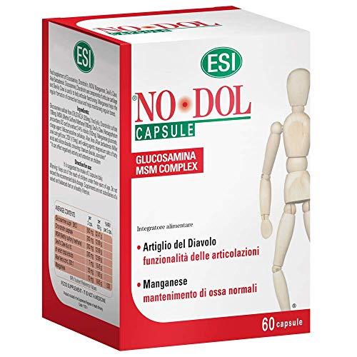 Esi No Dol - Integratore Alimentare per dolori articolari e muscolari, 60 Capsule