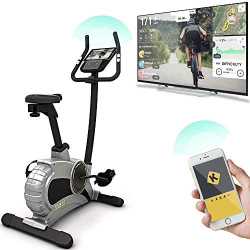 Bluefin Fitness Tour 5.0 Cyclette per Casa | Perdere Peso e Tonificarsi a casa | Trainer per Ciclo di Resistenza variabile | Display LCD