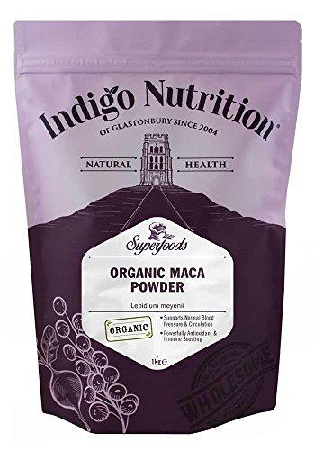 Indigo Herbs Maca Biologica in Polvere 1kg