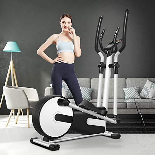 AORISSE Cyclette Ellittica, Ellittica Commerciale Professionale Ellittica Home Stepping Esercizio Fitness Attrezzature, Resistenza Magnetica Regolabile 24 Resistenza