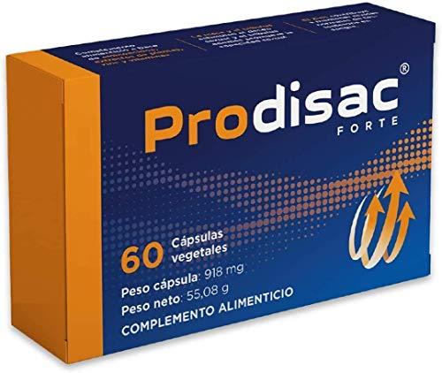 Prodisac ® Forte | Maggiore resistenza e potenza maschile | Senza Alcuna Controindicazione | Energizzante uomo | 60 capsule vegetali.