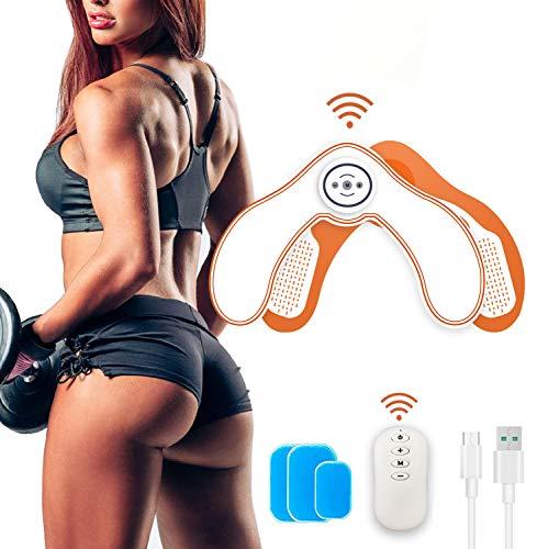 ROOTOK EMS Glutei Elettrostimolatore Muscolare, HipTrainer, Elettronico Natica Trainer, Glutei Allenatore, Glutei Allenatore Intelligenti per l'anca Donna Intelligent