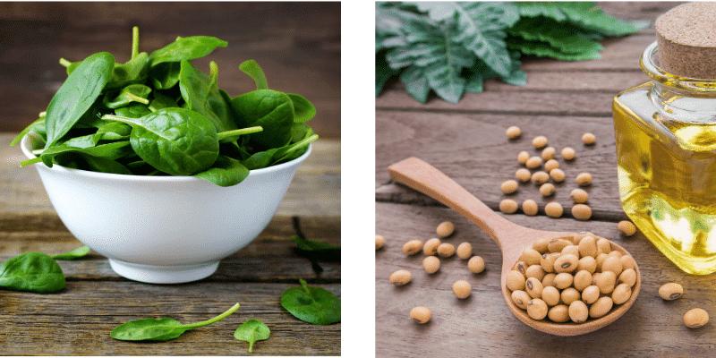 alimenti che contengono ferro: verdura e legumi