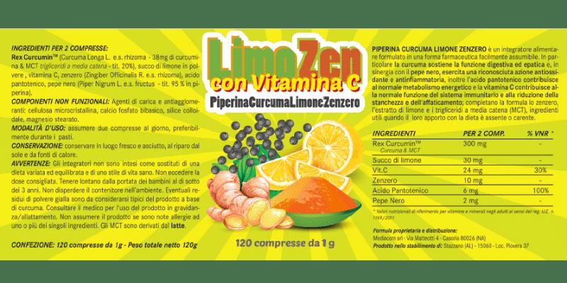 Limozen funziona Opinioni e recensioni su questo integratore dimagrante con vitamina c a base di piperina curcuma limone e zenzero