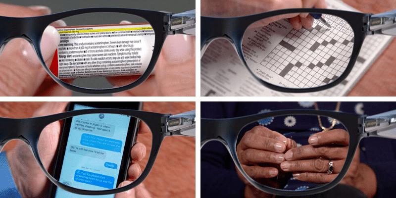One Power Zoom occhiali da lettura riposanti