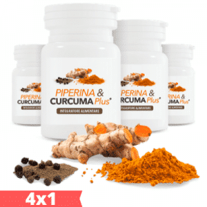 Piperina & Curcuma Plus - Compresse dimagranti - 4x1