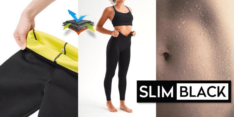 SlimBlack funzionano Opinioni recensioni prezzo e dove si comprano questi leggings snellenti in neoprene effetto sauna dimagranti