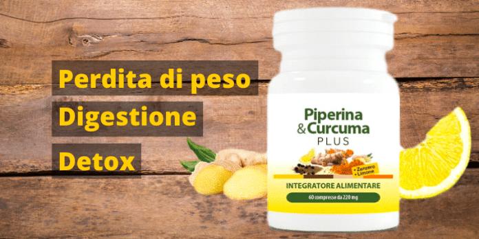 Piperina e Curcuma Plus con Zenzero e Limone - Opinioni e recensioni
