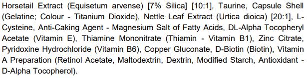 Profolan ingredienti