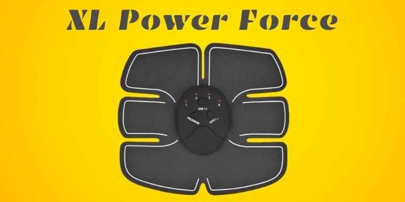 XL Power Force Elettrostimolatore Addominale _ prodotto