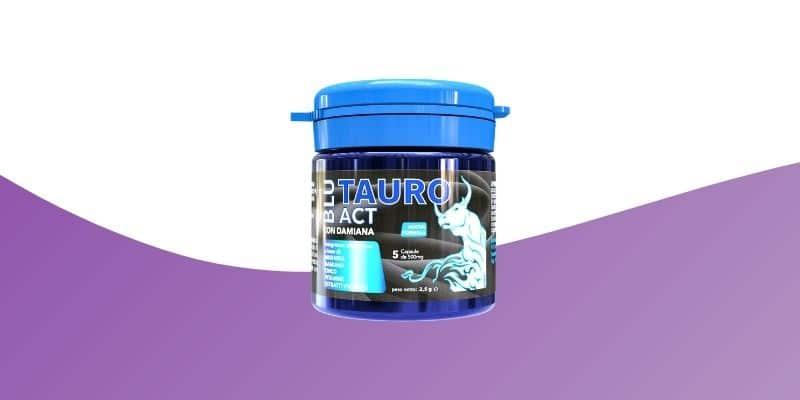 blu tauro act integratore in capsule per erezione