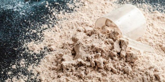 proteine caseine in polvere