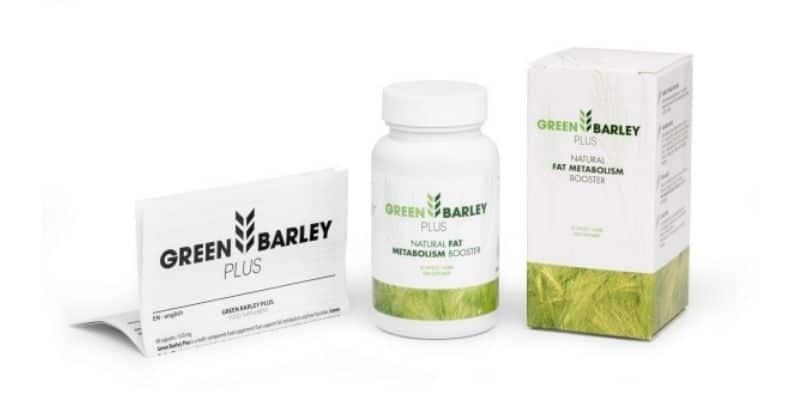 green barley plus ufficiale
