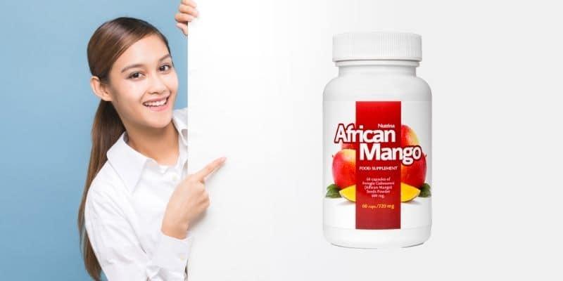 integratore con semi di mango africano