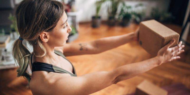 come scegliere i mattoncini per yoga