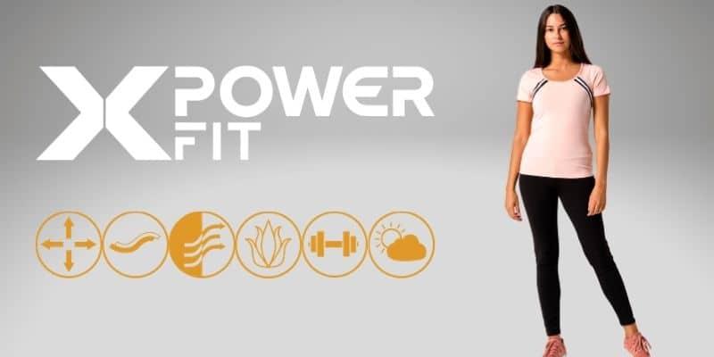x power fit tuta donna