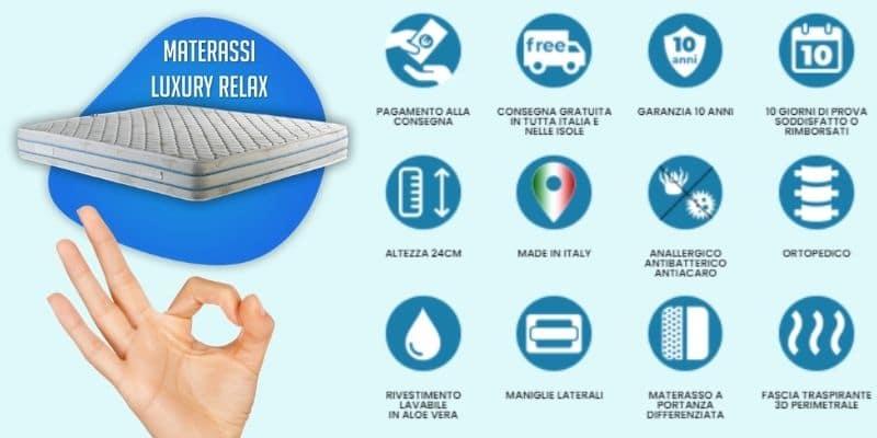 luxury relax materassi seregno