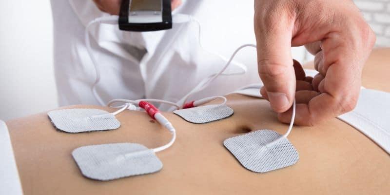 posizionare elettrodi elettrostimolatore
