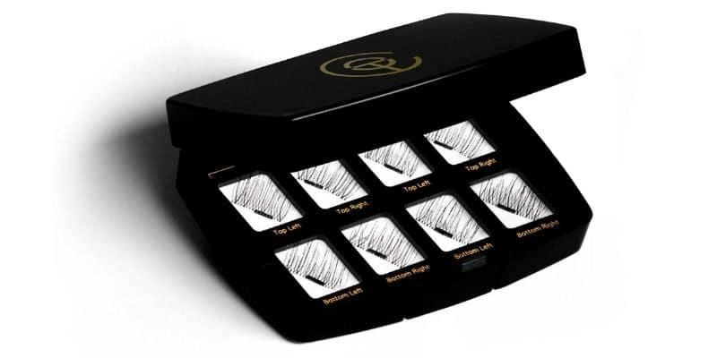 ciglia magnetiche black eyelashes con applicatore