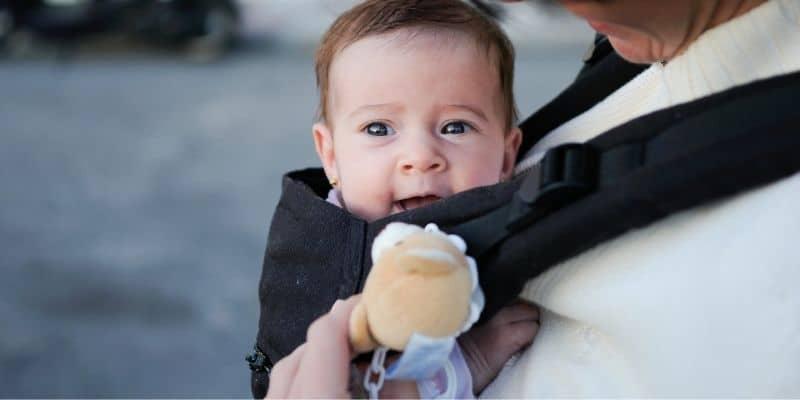 marsupio per neonato