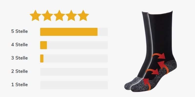 stepluxe anti cold socks recensioni