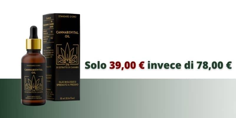 cannabisvital oil prezzo