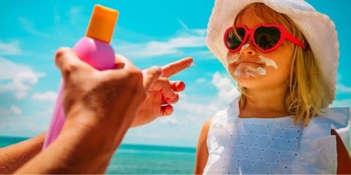 migliore crema solare neonati e bambini
