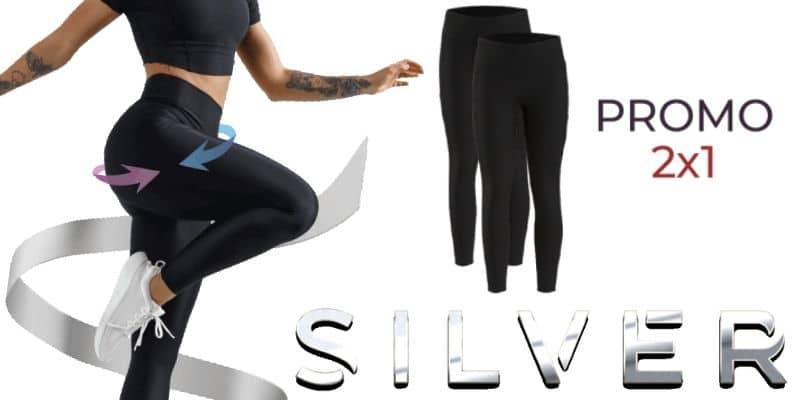 silver leggings originali