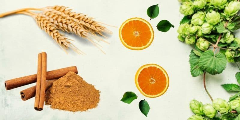 grano, vitamina c, cannella e luppolo