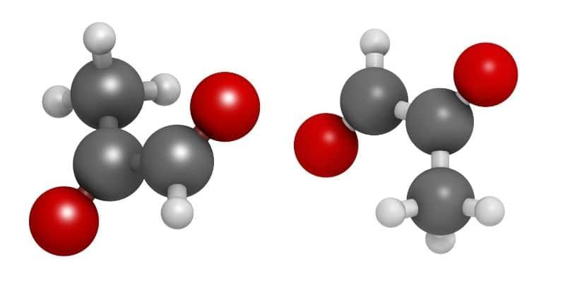 molecola di metilgliossale