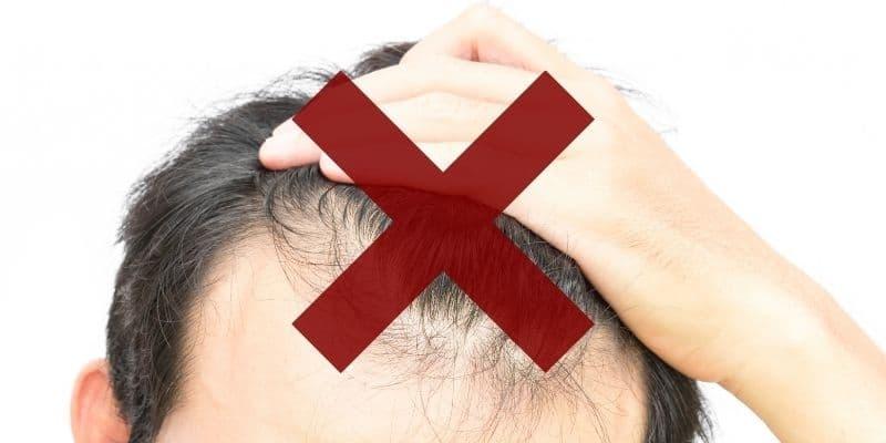 bloccare la caduta dei capelli