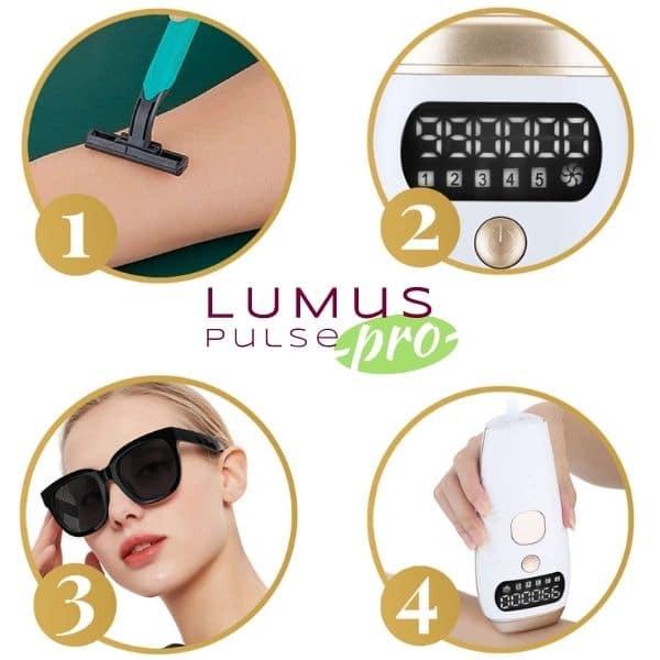 come usare lumus pulse pro