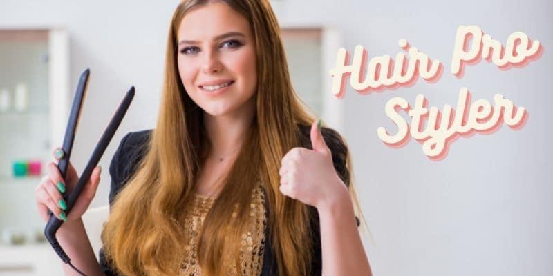 come usare la piastra hair pro styler
