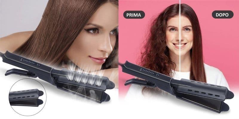 hair pro styler piastra asciuga e stira